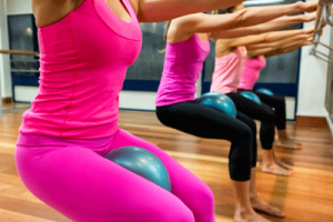 Barre Attack Inner Thigh Squeeze