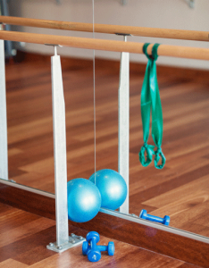 Typical Barre Equipment